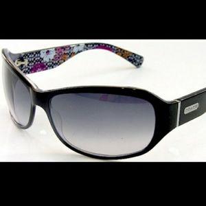 COACH Black Sarah Sunglasses (S437)